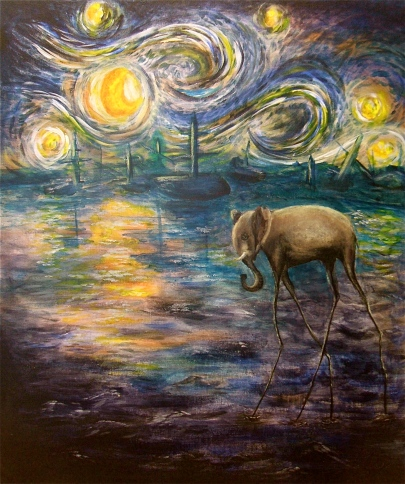 """Elephant Blues"" -- Natalie Martell"