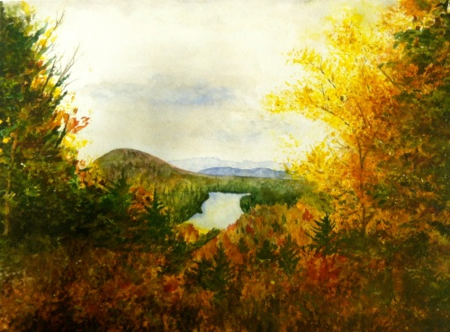 """Ricker Pond"" -- Natalie Martell"